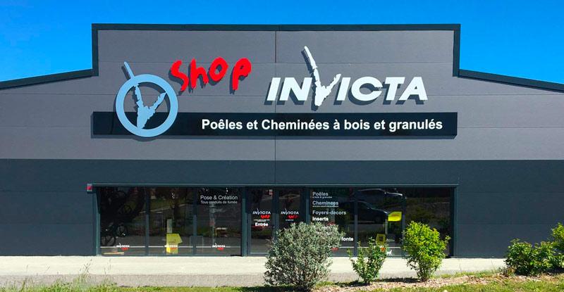 Magasin invicta shop à Aurillac dans le Cantal